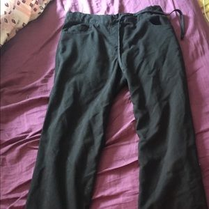 Grey's anatomy black scrub pants